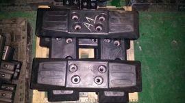 厂家直销 各种挖机履带板橡胶块 挖掘机链板胶块