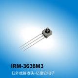 億光帶鐵殼紅外接收頭IRM-3638M3,廠家定制