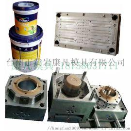 注射成型塑料桶模具工厂,注塑加工
