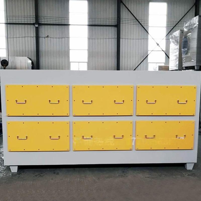 喷漆房活性炭除臭装置净化效率高