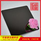 201黑鈦鏡面不鏽鋼板 佛山電鍍廠家按樣生產