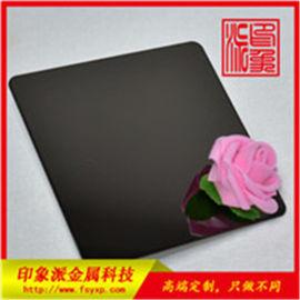 201黑钛镜面不锈钢板 佛山电镀厂家按样生产