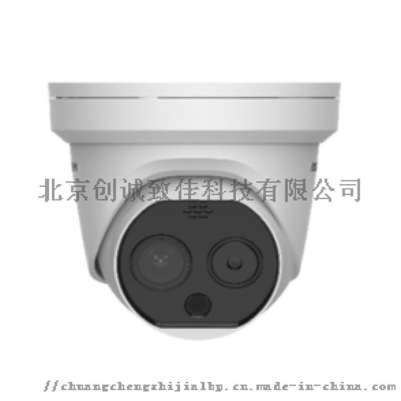 智慧測溫半球型攝像機DS-2TD1217B