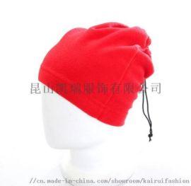 多功能可调节摇粒绒围脖帽子