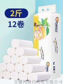 批发1000克/提卫生纸 厕纸原生木浆纸