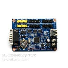广汉强力显示屏LED诺瓦控制系统带载230万像素发送卡MSD600