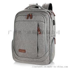 奥兰迪  男士旅游休闲商务韩版时尚潮流学生书包