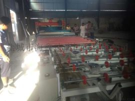 全自动玻璃水磨砂机生产线 海鑫实力品牌
