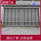 山東歐諾廠家生產 PVC快速堆積門 感應捲簾門