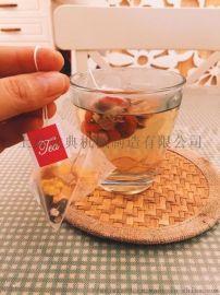 中国茶三角包袋泡茶包装机、日式玄米茶包装机