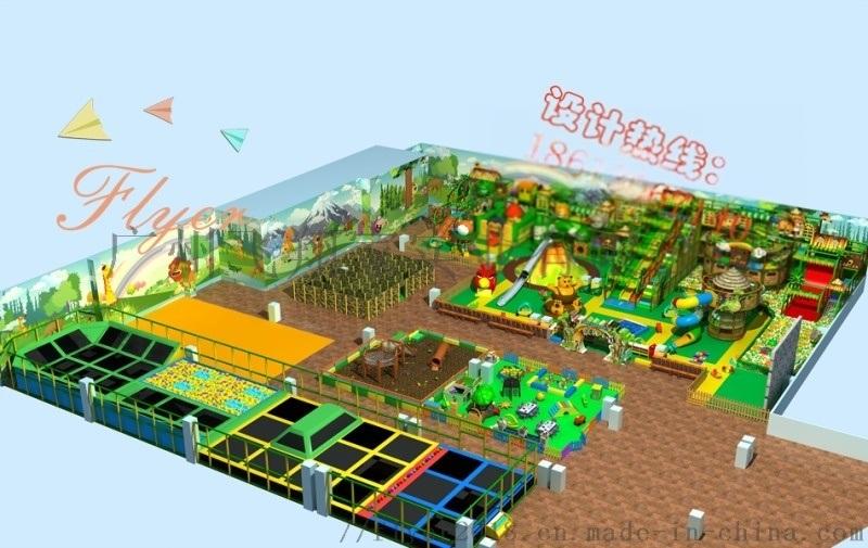 儿童乐园游乐场整体规划定制广州飞翔家专业定制