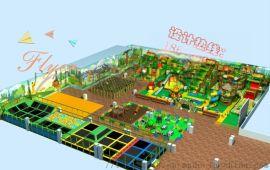 兒童樂園遊樂場整體規劃定制廣州飛翔家專業定制