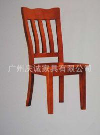 實木餐椅,橡木餐椅熱銷餐桌椅實木椅子 中式