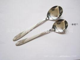 不锈钢勺叉 不锈钢花柄勺叉 不锈钢仙鹤勺