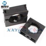 鑫翔宇/塑料波纹管带盖固定卡座/穿线软管固定卡子/线管固定座