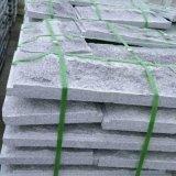 批发芝麻灰花岗岩蘑菇石别墅外墙砖 灰色天然蘑菇石加工 装饰石材