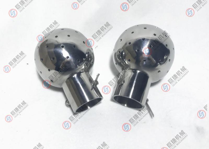 喷淋头 316L固定清洗球 卫生级插销式清洗球