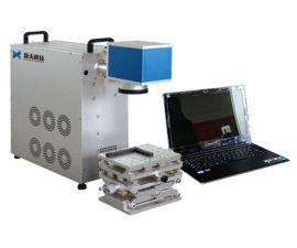 供應光纖鐳射打標機半導體高速鐳射打標機 深度打標機旋轉 大幅