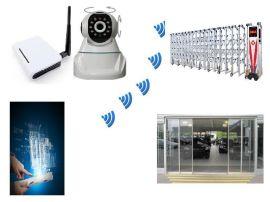 带视频反馈网络远程电动门自动门控制系统