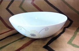 蛋白瓷沙拉碗