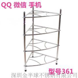 浙江省义乌市不锈钢组合75度三角架90度不锈钢置物架多功能金属欧式出口三角架