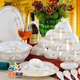 定做景德镇  陶瓷餐具