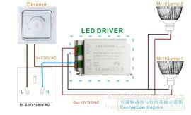 0-10v调光电源 外置驱动器