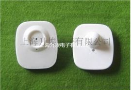 超市服装店白色小方 射频RF 硬标签