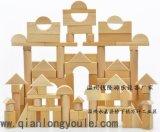原色实心180粒超大型原木建筑积木 幼儿园搭建玩具 木制儿童玩具