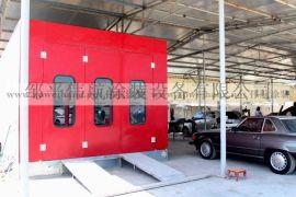 豪华钣金汽车喷烤漆房,进口燃油型汽车烤漆房