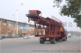 鸿达重工YHZS100移动式混凝土搅拌站