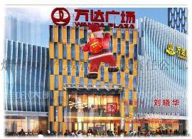 圣诞节商场购物中心房地产外墙装饰气模充气爬墙圣诞老人