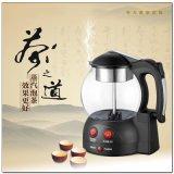 卓亚JY-8808煮茶器玻璃保温电水电茶壶煮壶蒸汽泡玻璃茶养生壶