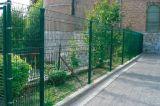 专业生产防护栏桃形立柱防护网
