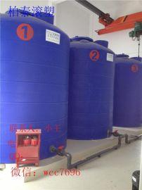 芜湖滚塑pe水塔 10立方加强筋加厚塑料水箱 全新聚乙烯材质