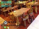 天津实木餐桌椅价格 餐厅桌椅设计 仿古餐桌椅