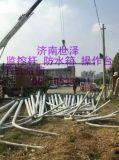 山东日照五莲莒县监控立杆生产厂家 路灯杆庭院灯杆 摄像头立杆 八角杆1.2米 2米3米4米5米6米监控立杆