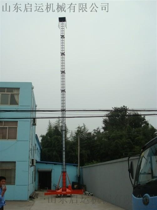 厂家直销启运QYTGY套缸式30米升降平台