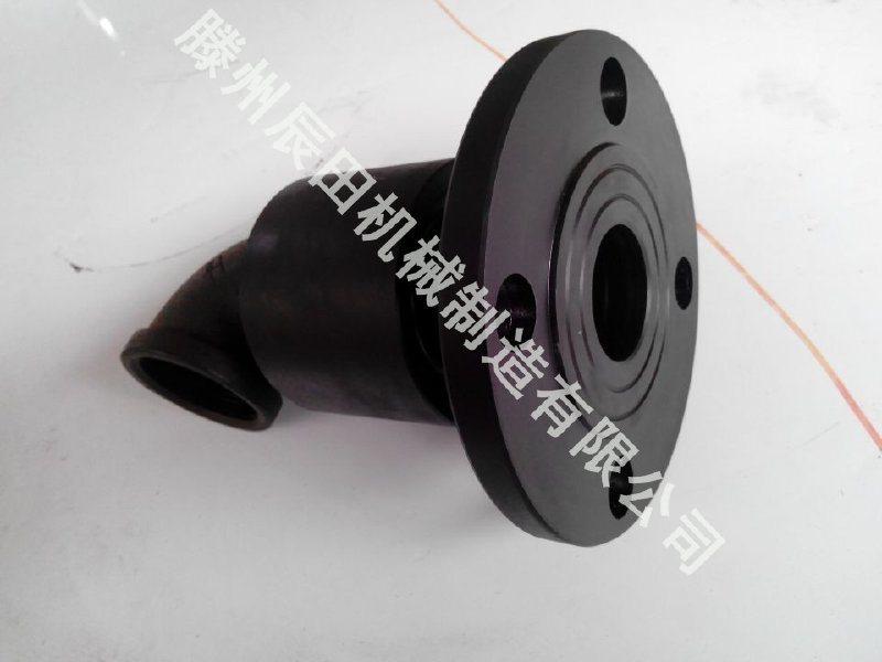 辰田90度万向节回转接头 塔吊喷淋系统用回转水接头 螺纹连接