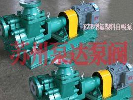 **塑料自吸泵FZB型