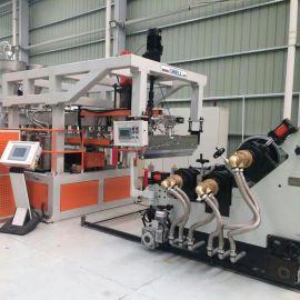 高产量PET/PP/PS片材挤出生产线设备