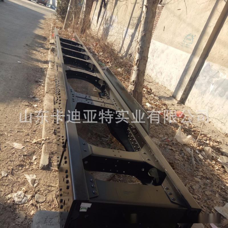 中國重汽橫樑系列-重汽豪沃變速箱橫樑、三孔直樑 豪沃車架總成