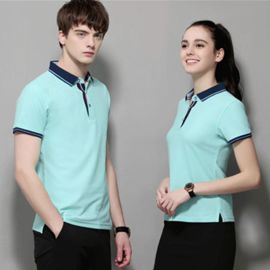 企业POLO衫工作衣服T恤定制团体文化广告衫订做印LOGO刺绣