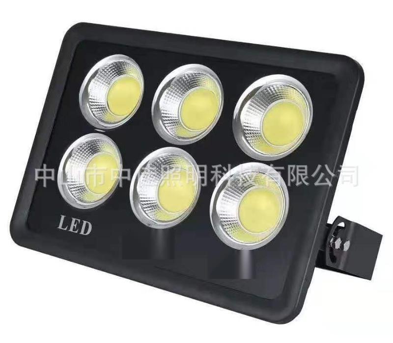 新款戶外led投光燈外殼 金鑽款300W集成投光燈壓鑄聚光投光燈外殼