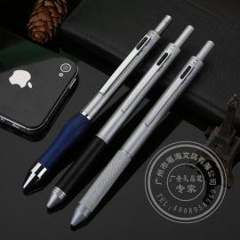 订制LOGO金属圆珠笔多色笔厂