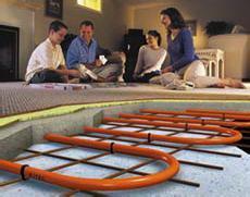 地暖材料批发  碳纤维地暖安装