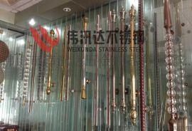 欧式仿铜水晶玻璃门不锈钢拉手