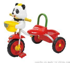 灿成 8005B 欢乐卡通简单型儿童三轮车 带灯光音乐
