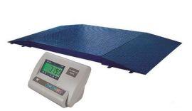 单层小地磅1.5*1.5米量程1-3吨的不需要安装电子小地磅