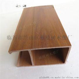 生态木天花吊顶规格定制装修材料50200/50100/40150
